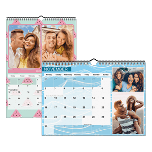 Personalised Calendar<br>A4